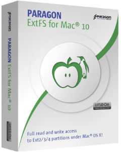 Paragon ExtFS for Mac® OS X 10.0